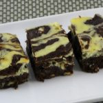 brownie de cheescake